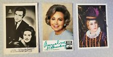 Lot of Three signed opera photos: Joan Sutherland, Rothenberger, Ghena Dimitrova