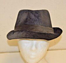 "Nice Dorfman Pacific Gray DPC ""1921""  Fedora Soft Polyester Men's Size 59/L Hat"