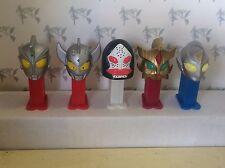 PEZ Mini - Japanese - Ultraman Series 2 - Complete Set of 5