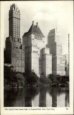 New York City Skyscrapers From Central Park Real Photo Postcard