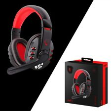 Bluetooth Gaming Headset Headphones w/Microphone For PS4/ PUBG For PC /CellPhone