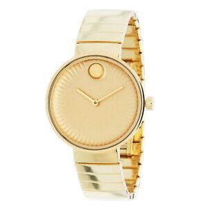 Movado 3680014 Women's Edge Gold Quartz Watch