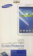 "100% GENUINE SAMSUNG - 2 CLEAR Screen Protector  - Samsung Galaxy Tab 3 - 7.0"""