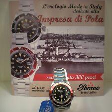 Orologio Perseo Serie Speciale impresa di Pola 1918 numerato N°085/300 5063
