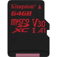 Kingston Canvas React 64 GB microSDXC, Speicherkarte, schwarz