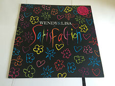 "WENDY & LISA Satisfaction 1989 UK  12"" Vinyl PRINCE INTEREST NR MINT CONDITION"