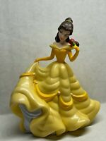 """Disney Figure Cake Topper Belle Beauty and the Beast Rose Ball Gown PVC 4"""""""