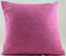 Luxury Pink Soft Chenille Evans Lichfield Cushion Cover