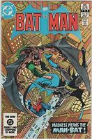 Batman #361 - 1st Harvey Bullock  CLASSIC COVER VF