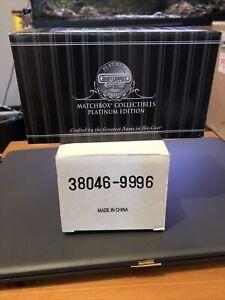 MATCHBOX 1999 1968 VOLKSWAGEN BEETLE CABRIOLET 'COCA COLA' IN BLACK/YELLOW-BOXED
