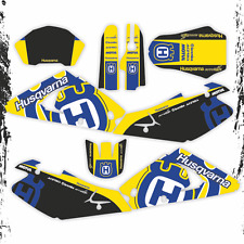HUSQVARNA TE 250 450 2002 2004 GRAPHICS KIT (light version)