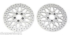 "84'-99' HARLEY 11.5"" ROTORS/SPORTSTER BRAND XL1200-FRONT & REAR W/MOUNTING BOLTS"