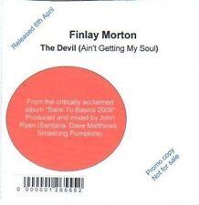 (BI306) Finlay Morton, The Devil - 2009 DJ CD