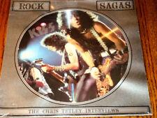 KISS ~ ROCK SAGAS-THE CHRIS TETLEY INTERVIEWS ~ PICTURE DISC ~ SEALED ~ 1988