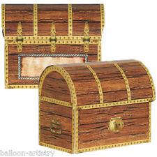 4 partito Pirata Treasure Chest Loot BOX SCATOLE