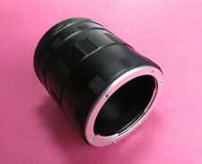 Macro Extension Tube OM 4/3 set 3 ring for Olympus E-400, E-350, E-330, E-300