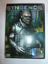 Syngenor DVD cult 1990 indie sci-fi horror movie monster Scared To Death sequel!