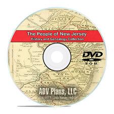 New Jersey NJ, People, Civil War History and Genealogy 79 Books DVD CD B10