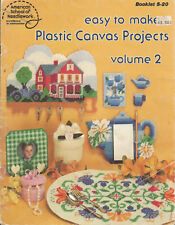 Plastic Canvas Projects Vol.2, American School Of Needlework Booklet S-20