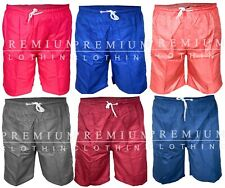 Mens Swim Shorts Swimming Pockets Mesh Trunks Bottoms Swimwear Pants Bottoms