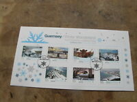 2011 Guernsey FDC / First Day Cover - Winter Wonderland / Christmas