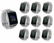 10PC Wholesale G12 White and Silver Bluetooth Touchscreen Smart Watch