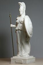 Athena Minerva Greek Roman Goddess Handmade Statue Figure Sculpture 9.65in