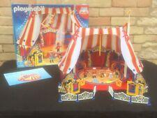 PLAYMOBIL 4230 Grand chapiteau de cirque 100% complet avec boite et notice