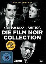 Die Film Noir Collection | 9 Filme, 4 DVDs | Hitchcock | Bogart |  [FSK16] DVD