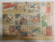 Flying Jenny Sunday Page by Russell Keaton from 2/14/1943 Size: 11 x 15 inches