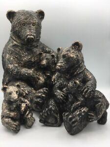 Cute Bear and Cub - Choice of sizes