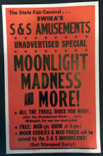 Original Moonlight Madness Window Card