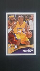 Kobe Bryant / Lebron James sticker NBA 2015-16 # 363 Kobe&Lebron MINT
