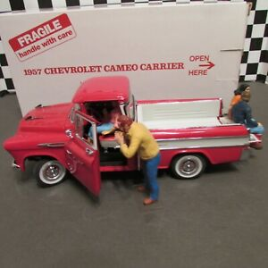 Danbury Mint,1957 Chevrolet Cameo Pickup truck,1/25 scale  model car, used