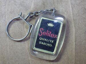 Keyring Retro Vintage Year 60-70 Advertising Selitex Keyring/D11
