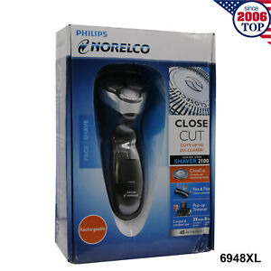 New Philips Norelco 6948XL Electric Shaver Rechargeable  Razor CloseCut Cordless