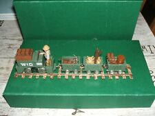 FUSILIER MINIATURES WW1 RAILWAY TRACTOR AND TRUCKS