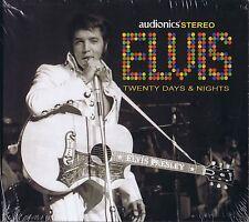 Elvis PresIey - TWENTY DAYS & NIGHTS - Digi Pk CD / New & Sealed