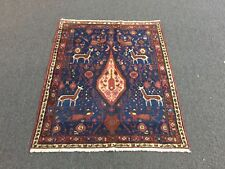 On Sale Great Semi Antique Hand Knotted Persian Rug-Varamin-Tehran Carpet 3x4