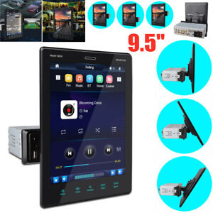 """9.5"""" Android 10.1 HD BT MP5 Player Car Video Touch Screen GPS Navi Mirror Link"""