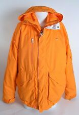 2014 MEN FOURSQUARE INSULATED 2-IN-1 SNOWBOARD JACKET $270 L bright orange USED
