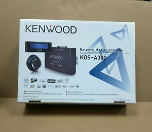 KENWOOD KOS-A300 External Media Controller Factory New in Box FREE SHIPPING