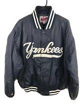 MENS Large - Vtg MLB New York Yankees Starter Diamond Collection Lined Jacket