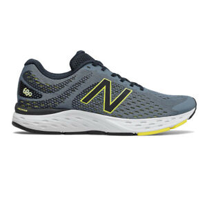 New Balance Mens 680v6 Running Shoes Trainers Sneakers Grey Sports Breathable