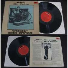 RICH. ST. JOHN - Thru' His Eyes LP Rare German Press UK FOLK ROCK 1966