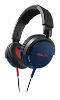 Philips SHL3100BL Headband headphones DJ monitor style SHL3100 Blue GENUINE