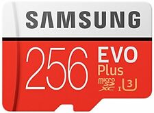 Samsung 256GB EVO Plus Class 10 UHS-I microSDXC U3 with Adapter (MB-MC256GA/EU)