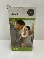 Boba Wrap Baby Carrier Grey Original Stretchy Infant Sling Up to 35lbs