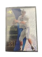 1998 Skybox EX 2001 Football Card #54 Peyton Manning Rookie Mint PSA