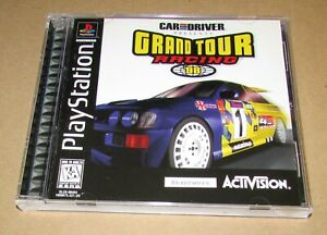 Grand Tour Racing '98 for Playstation PS1 Complete Fast Shipping